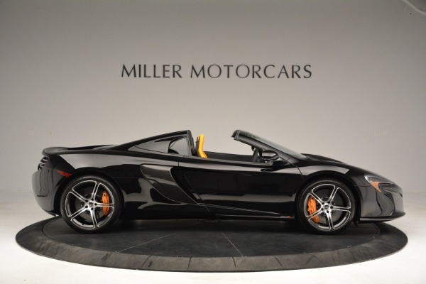 Used 2015 McLaren 650S Spider for sale Sold at Alfa Romeo of Greenwich in Greenwich CT 06830 9
