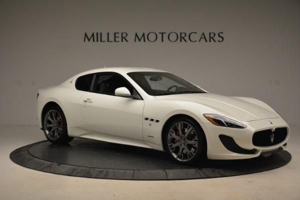 Used 2016 Maserati GranTurismo Sport for sale Sold at Alfa Romeo of Greenwich in Greenwich CT 06830 13