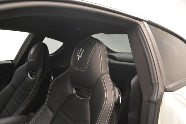 Used 2016 Maserati GranTurismo Sport for sale Sold at Alfa Romeo of Greenwich in Greenwich CT 06830 17
