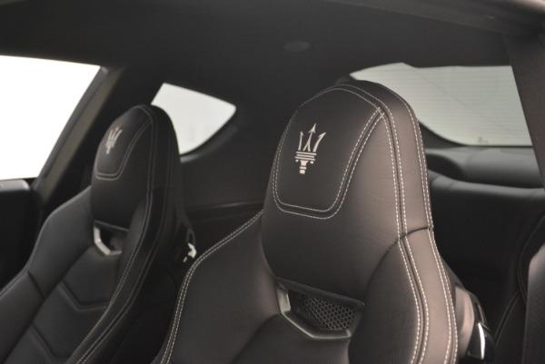 Used 2016 Maserati GranTurismo Sport for sale Sold at Alfa Romeo of Greenwich in Greenwich CT 06830 18
