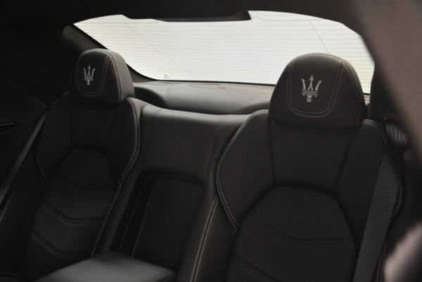 Used 2016 Maserati GranTurismo Sport for sale Sold at Alfa Romeo of Greenwich in Greenwich CT 06830 21