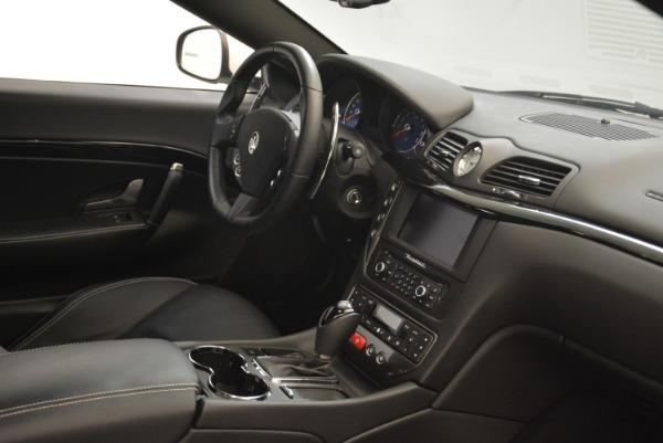 Used 2016 Maserati GranTurismo Sport for sale Sold at Alfa Romeo of Greenwich in Greenwich CT 06830 25