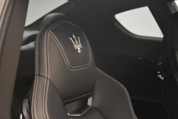 Used 2016 Maserati GranTurismo Sport for sale Sold at Alfa Romeo of Greenwich in Greenwich CT 06830 27