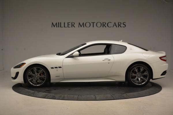 Used 2016 Maserati GranTurismo Sport for sale Sold at Alfa Romeo of Greenwich in Greenwich CT 06830 3