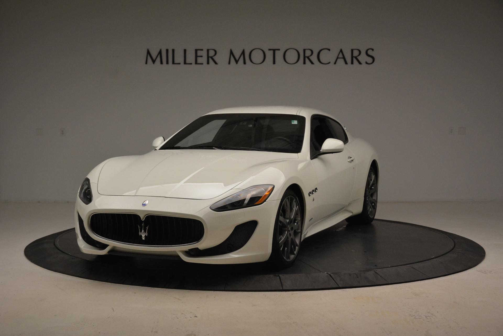 Used 2016 Maserati GranTurismo Sport for sale Sold at Alfa Romeo of Greenwich in Greenwich CT 06830 1