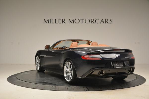 Used 2014 Aston Martin Vanquish Volante for sale Sold at Alfa Romeo of Greenwich in Greenwich CT 06830 5