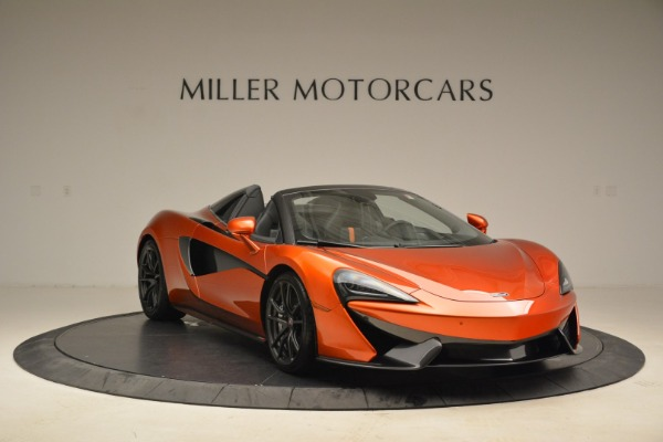 New 2018 McLaren 570S Spider for sale Sold at Alfa Romeo of Greenwich in Greenwich CT 06830 11