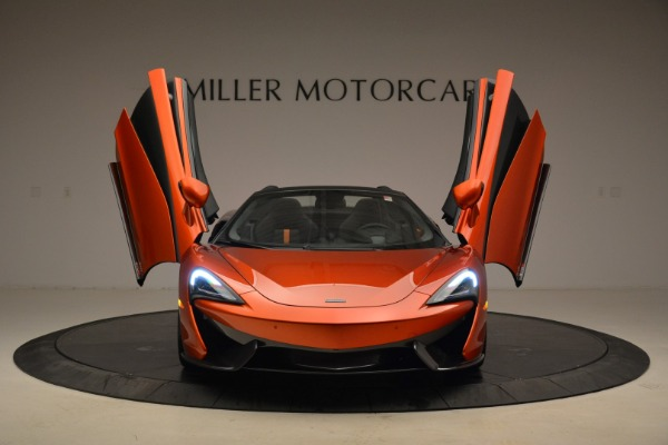 New 2018 McLaren 570S Spider for sale Sold at Alfa Romeo of Greenwich in Greenwich CT 06830 13