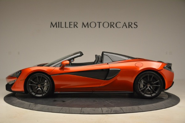 New 2018 McLaren 570S Spider for sale Sold at Alfa Romeo of Greenwich in Greenwich CT 06830 3