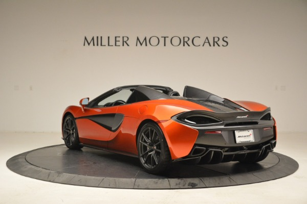 New 2018 McLaren 570S Spider for sale Sold at Alfa Romeo of Greenwich in Greenwich CT 06830 5