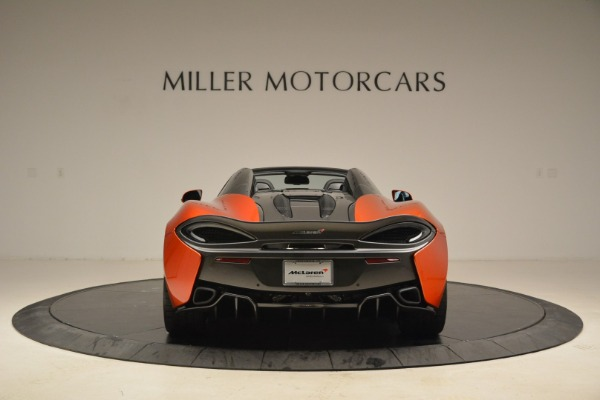 New 2018 McLaren 570S Spider for sale Sold at Alfa Romeo of Greenwich in Greenwich CT 06830 6