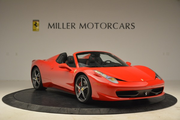 Used 2014 Ferrari 458 Spider for sale Sold at Alfa Romeo of Greenwich in Greenwich CT 06830 11