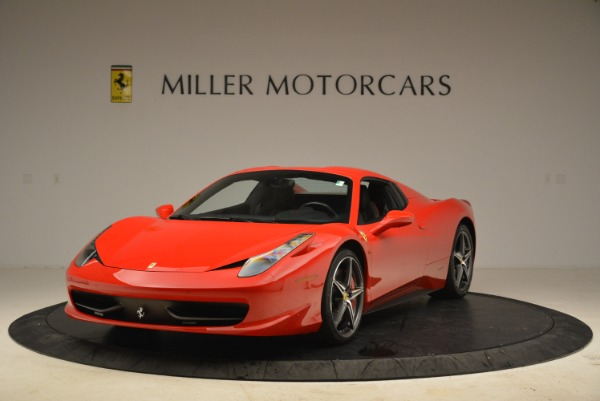 Used 2014 Ferrari 458 Spider for sale Sold at Alfa Romeo of Greenwich in Greenwich CT 06830 13
