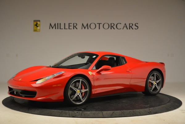 Used 2014 Ferrari 458 Spider for sale Sold at Alfa Romeo of Greenwich in Greenwich CT 06830 14