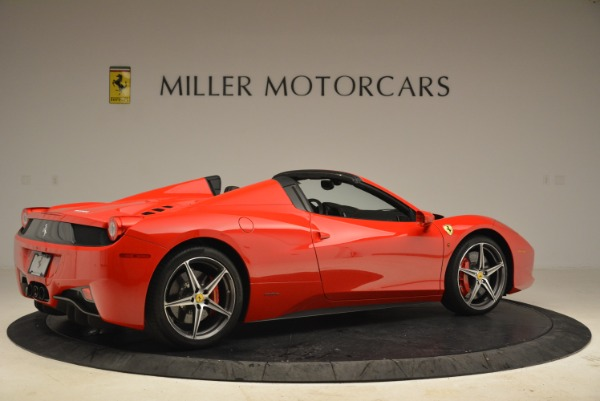 Used 2014 Ferrari 458 Spider for sale Sold at Alfa Romeo of Greenwich in Greenwich CT 06830 8