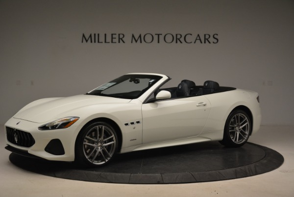 New 2018 Maserati GranTurismo Sport Convertible for sale Sold at Alfa Romeo of Greenwich in Greenwich CT 06830 2