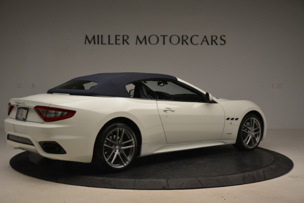 New 2018 Maserati GranTurismo Sport Convertible for sale Sold at Alfa Romeo of Greenwich in Greenwich CT 06830 6