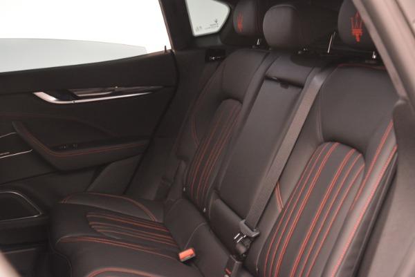 New 2018 Maserati Levante Q4 for sale Sold at Alfa Romeo of Greenwich in Greenwich CT 06830 21