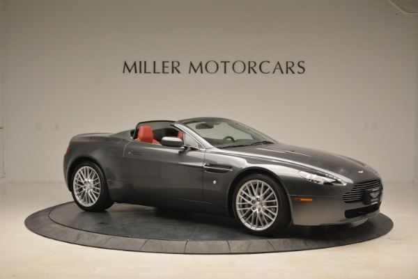 Used 2009 Aston Martin V8 Vantage Roadster for sale Sold at Alfa Romeo of Greenwich in Greenwich CT 06830 10