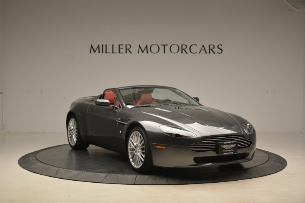 Used 2009 Aston Martin V8 Vantage Roadster for sale Sold at Alfa Romeo of Greenwich in Greenwich CT 06830 11