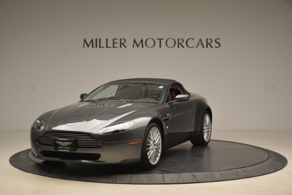 Used 2009 Aston Martin V8 Vantage Roadster for sale Sold at Alfa Romeo of Greenwich in Greenwich CT 06830 13