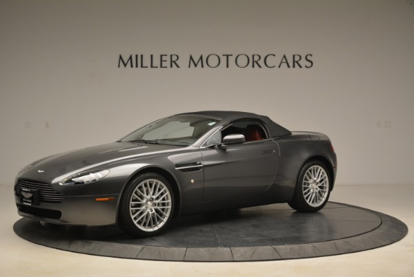 Used 2009 Aston Martin V8 Vantage Roadster for sale Sold at Alfa Romeo of Greenwich in Greenwich CT 06830 14