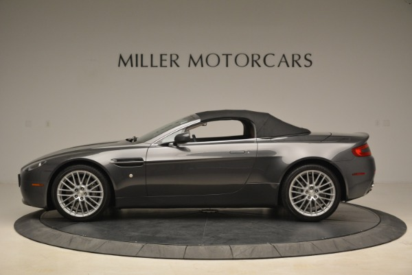 Used 2009 Aston Martin V8 Vantage Roadster for sale Sold at Alfa Romeo of Greenwich in Greenwich CT 06830 15
