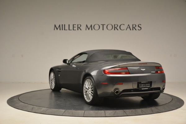 Used 2009 Aston Martin V8 Vantage Roadster for sale Sold at Alfa Romeo of Greenwich in Greenwich CT 06830 17