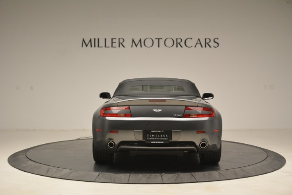 Used 2009 Aston Martin V8 Vantage Roadster for sale Sold at Alfa Romeo of Greenwich in Greenwich CT 06830 18