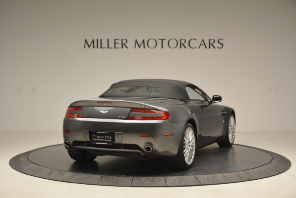 Used 2009 Aston Martin V8 Vantage Roadster for sale Sold at Alfa Romeo of Greenwich in Greenwich CT 06830 19