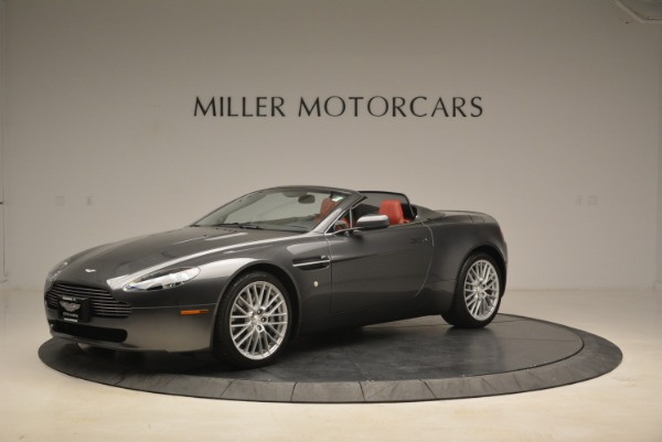Used 2009 Aston Martin V8 Vantage Roadster for sale Sold at Alfa Romeo of Greenwich in Greenwich CT 06830 2