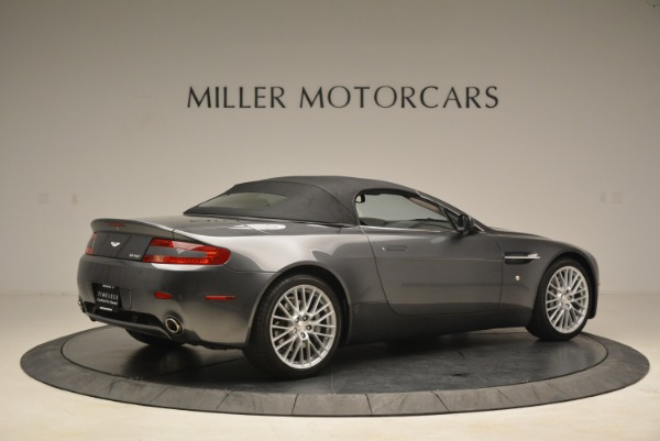 Used 2009 Aston Martin V8 Vantage Roadster for sale Sold at Alfa Romeo of Greenwich in Greenwich CT 06830 20