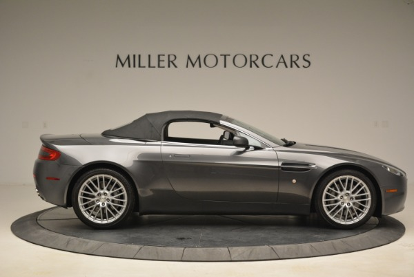 Used 2009 Aston Martin V8 Vantage Roadster for sale Sold at Alfa Romeo of Greenwich in Greenwich CT 06830 21