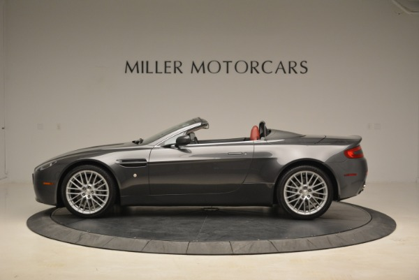 Used 2009 Aston Martin V8 Vantage Roadster for sale Sold at Alfa Romeo of Greenwich in Greenwich CT 06830 3
