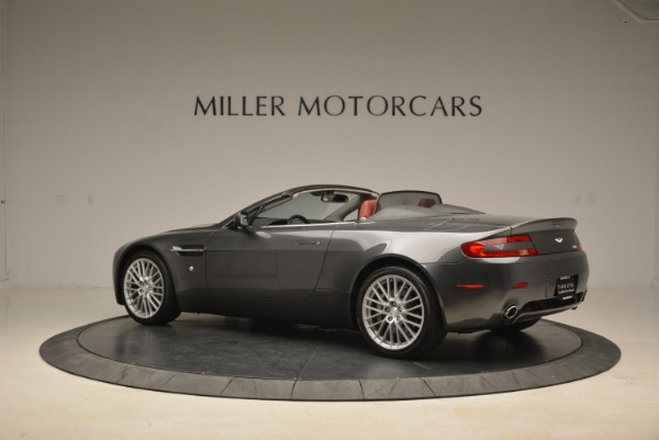 Used 2009 Aston Martin V8 Vantage Roadster for sale Sold at Alfa Romeo of Greenwich in Greenwich CT 06830 4