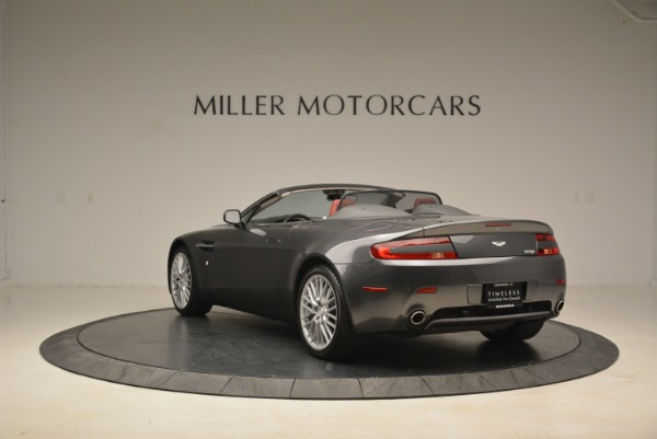 Used 2009 Aston Martin V8 Vantage Roadster for sale Sold at Alfa Romeo of Greenwich in Greenwich CT 06830 5