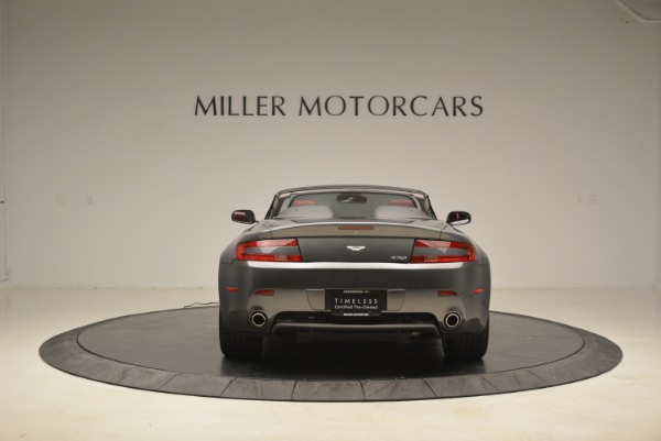 Used 2009 Aston Martin V8 Vantage Roadster for sale Sold at Alfa Romeo of Greenwich in Greenwich CT 06830 6