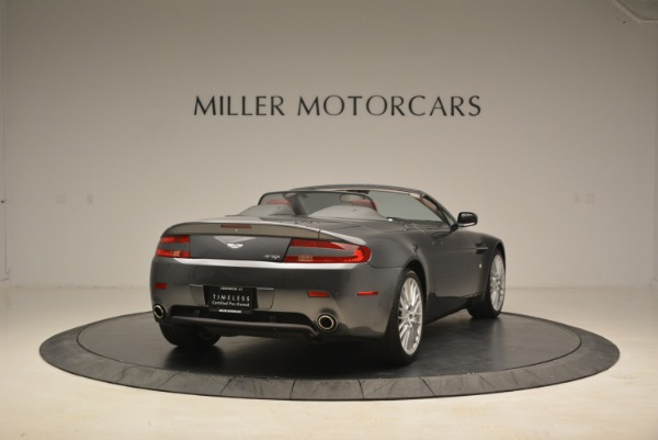 Used 2009 Aston Martin V8 Vantage Roadster for sale Sold at Alfa Romeo of Greenwich in Greenwich CT 06830 7