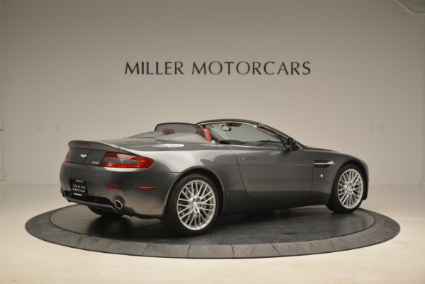 Used 2009 Aston Martin V8 Vantage Roadster for sale Sold at Alfa Romeo of Greenwich in Greenwich CT 06830 8