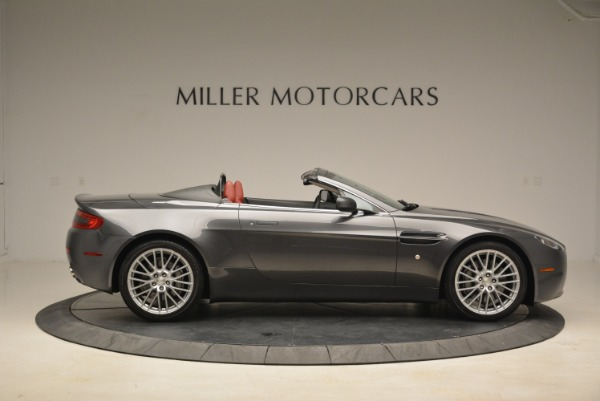 Used 2009 Aston Martin V8 Vantage Roadster for sale Sold at Alfa Romeo of Greenwich in Greenwich CT 06830 9