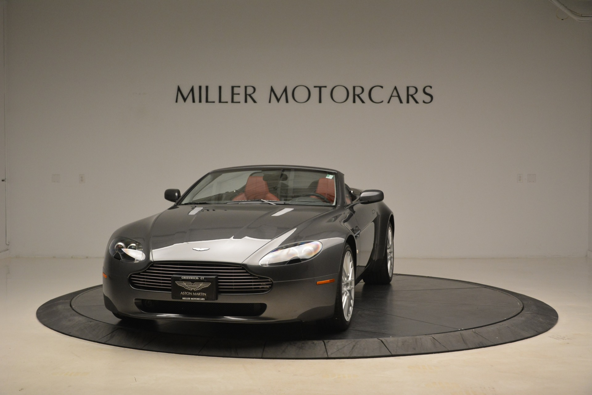Used 2009 Aston Martin V8 Vantage Roadster for sale Sold at Alfa Romeo of Greenwich in Greenwich CT 06830 1