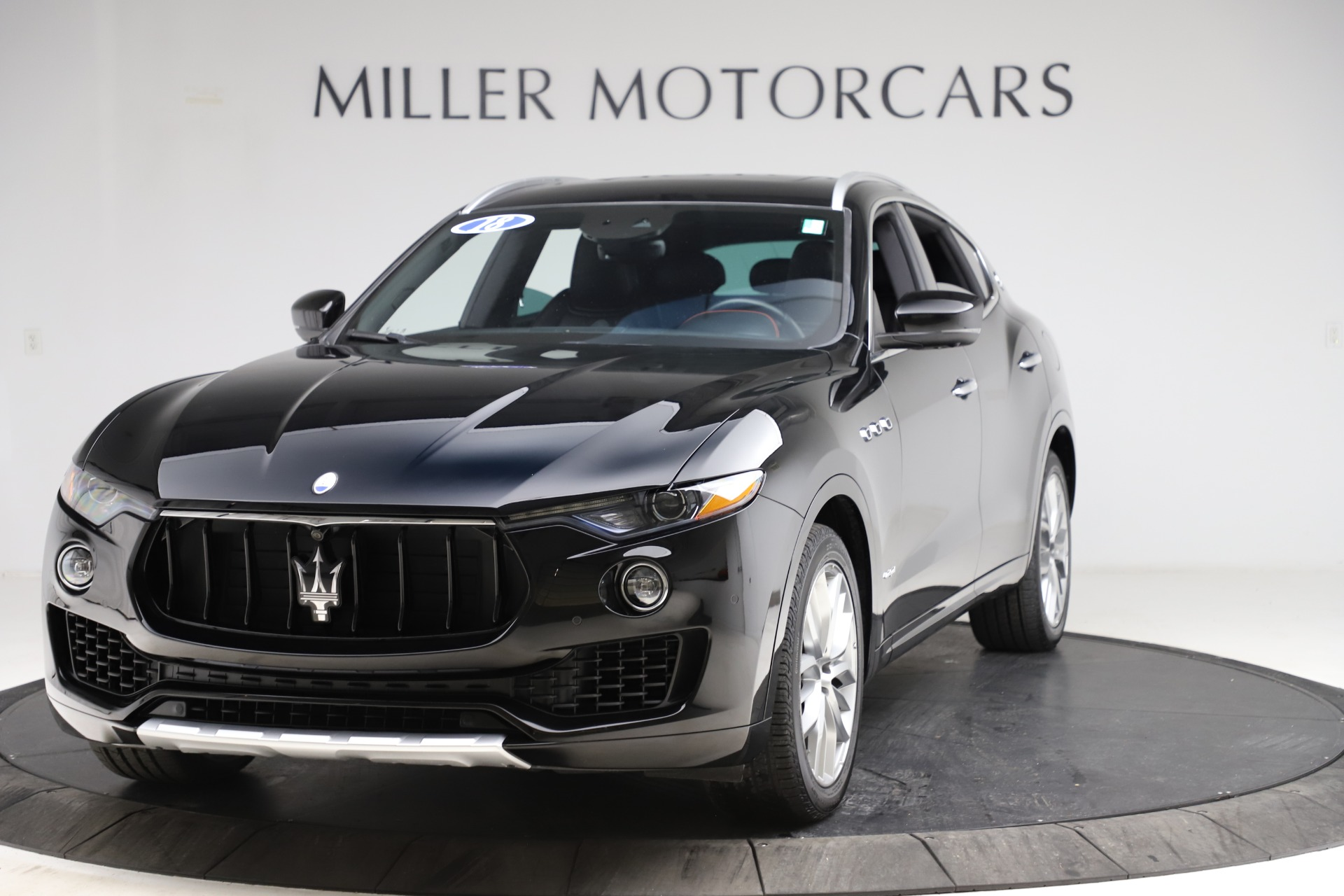 Used 2018 Maserati Levante Q4 GranSport for sale $53,900 at Alfa Romeo of Greenwich in Greenwich CT 06830 1
