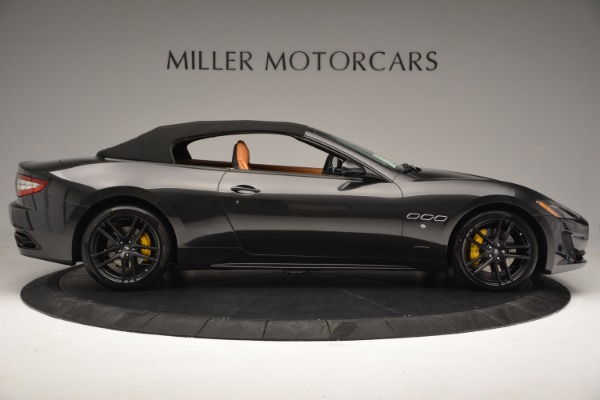 Used 2015 Maserati GranTurismo Sport Convertible for sale Sold at Alfa Romeo of Greenwich in Greenwich CT 06830 17