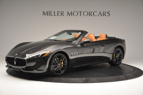 Used 2015 Maserati GranTurismo Sport Convertible for sale Sold at Alfa Romeo of Greenwich in Greenwich CT 06830 3