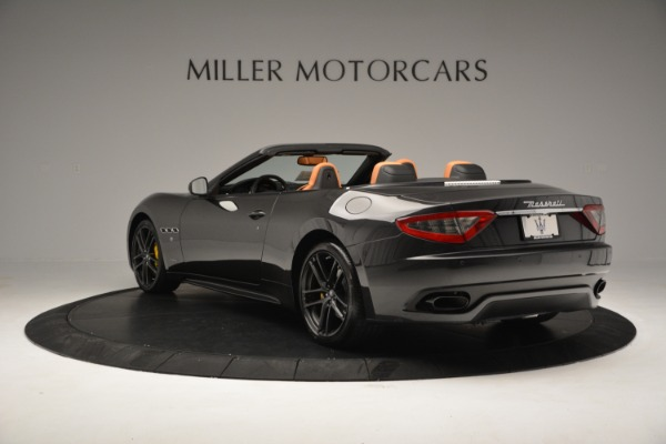Used 2015 Maserati GranTurismo Sport Convertible for sale Sold at Alfa Romeo of Greenwich in Greenwich CT 06830 6