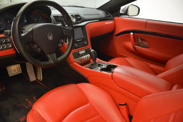 Used 2014 Maserati GranTurismo Sport for sale Sold at Alfa Romeo of Greenwich in Greenwich CT 06830 11