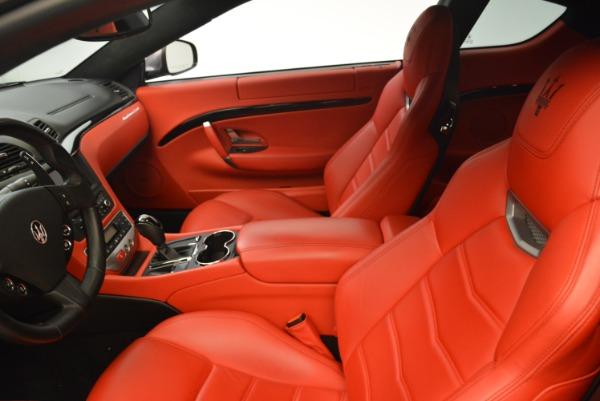 Used 2014 Maserati GranTurismo Sport for sale Sold at Alfa Romeo of Greenwich in Greenwich CT 06830 12