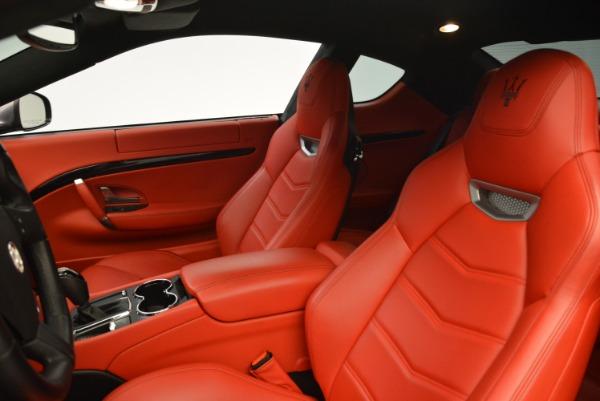 Used 2014 Maserati GranTurismo Sport for sale Sold at Alfa Romeo of Greenwich in Greenwich CT 06830 13