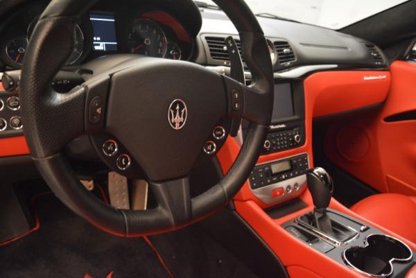 Used 2014 Maserati GranTurismo Sport for sale Sold at Alfa Romeo of Greenwich in Greenwich CT 06830 15