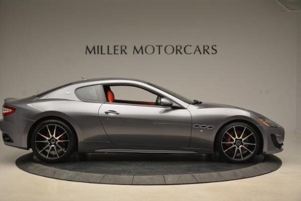 Used 2014 Maserati GranTurismo Sport for sale Sold at Alfa Romeo of Greenwich in Greenwich CT 06830 7